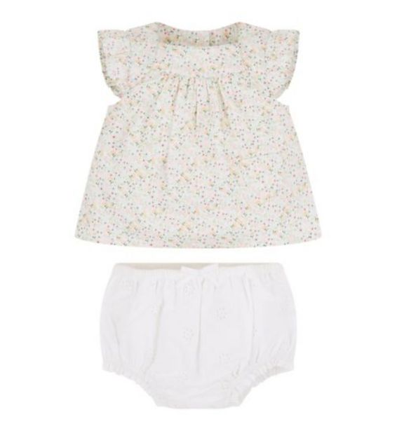 Mini Club Blouse And Bubble Short Set offer at £7