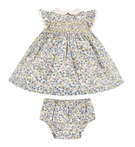 Mini Club Floral Dress And Knicker Set offer at £9