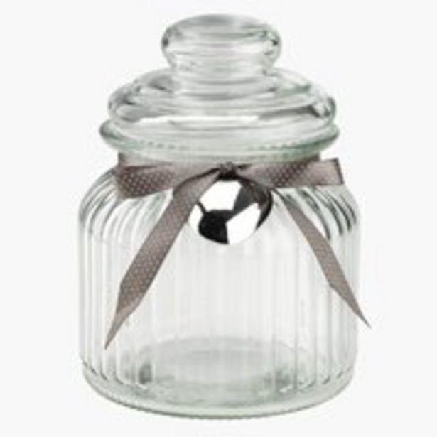 Storage jar BAUGI D11xH15cm w/lid offer at £1.75