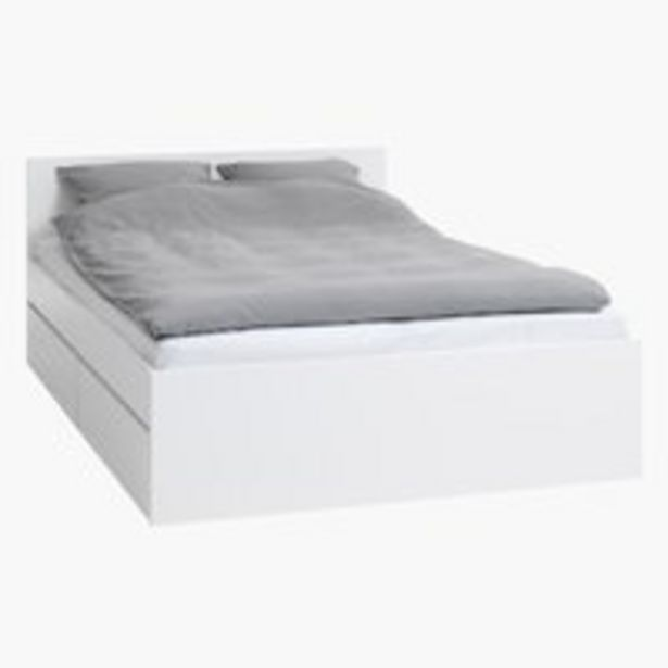 Bed frame LIMFJORDEN SKG white offer at £275