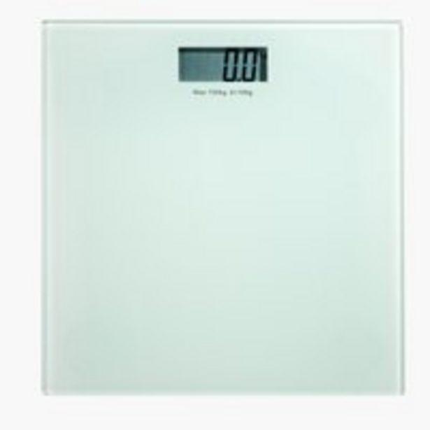 Bathroom scale KROKEK glass 150kg/100g offer at £10