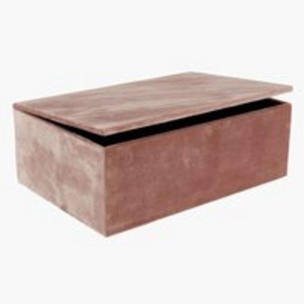 Storage box GREGERS W25xL17xH9cm offer at £8.99