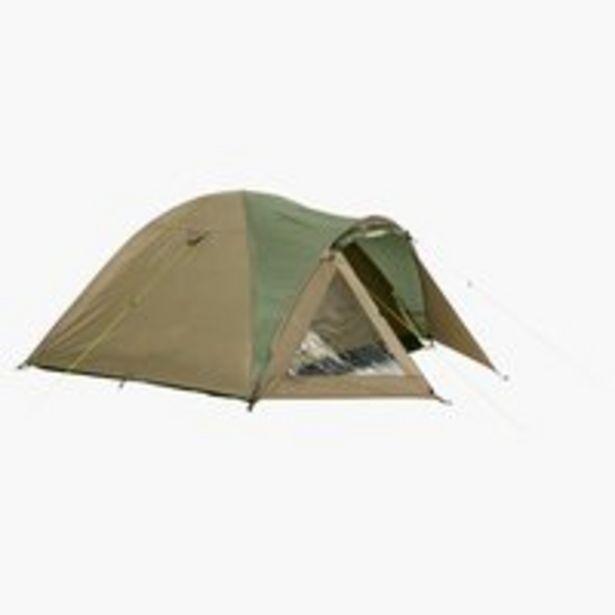 Tent SVARTSKOG sleeps 4 beige/green offer at £55