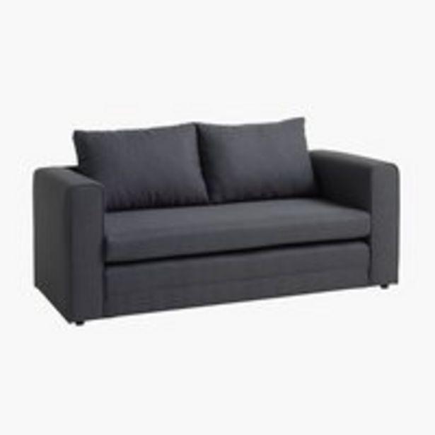Sofa bed SKILLEBEKK dark grey offer at £200