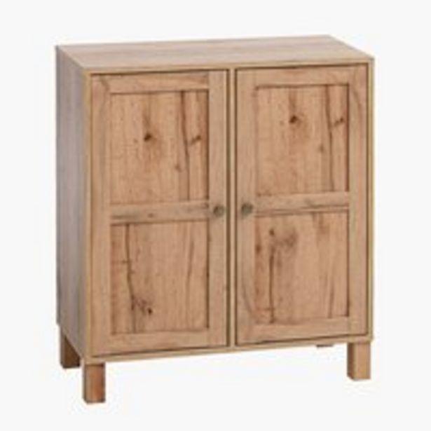 Cabinet SKALS 2 doors oak offer at £60