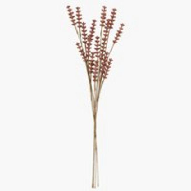 Artificial flower LEANDER H53cm brown offer at £3.5