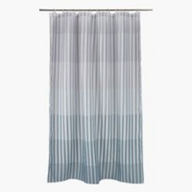 Shower curtain ARENTORP 150x200 grey offer at £9.99