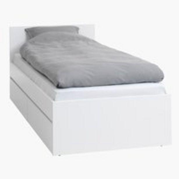 Bed frame LIMFJORDEN SGL white offer at £150