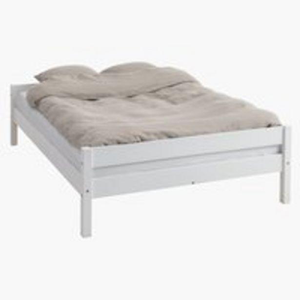 Bed frame VESTERVIG KNG white offer at £150