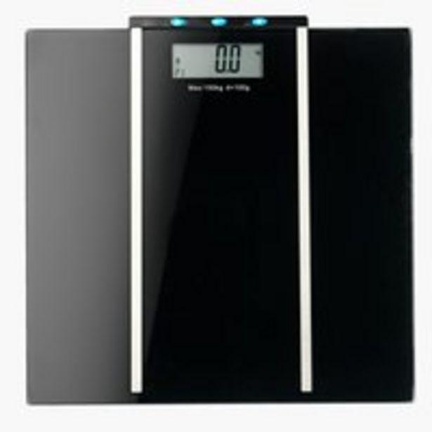 Bathroom scale MORUP body fat 150kg/100g offer at £15