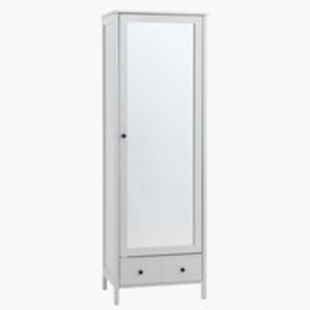 Hallway unit TERPET with mirror white offer at £169.99