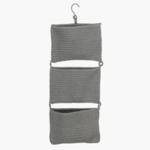 Hanging storage STOBY W29xH78cm grey offer at £12.5