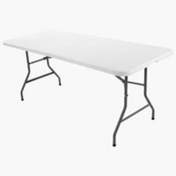 Folding table KULESKOG W75xL180 white offer at £40
