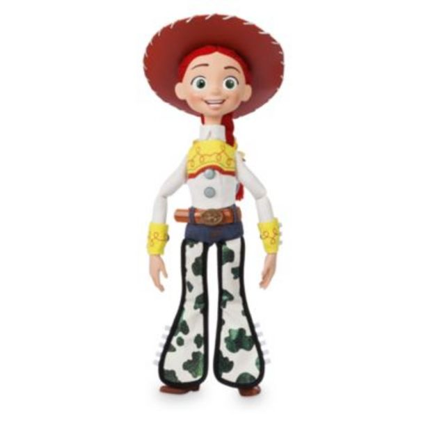 Disney Store Jessie Interactive Talking Action Figure offer at £32.99
