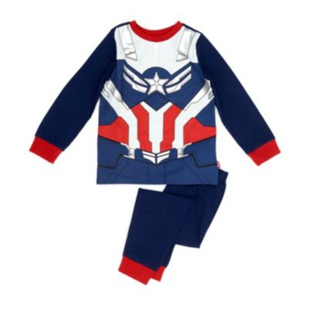 Disney Store Captain America Costume Pyjamas For Kids offer at £15