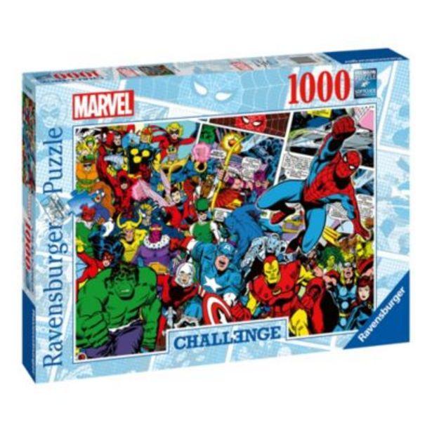 Ravensburger Marvel Challenge 1000 Piece Puzzle offer at £15