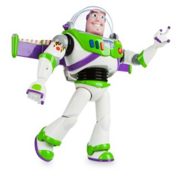 Disney Store Buzz Lightyear Interactive Talking Action Figure offer at £32.99