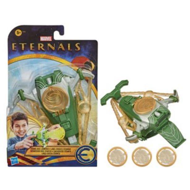 Hasbro Marvel Eternals Cosmic Disc Launcher offer at £9.99