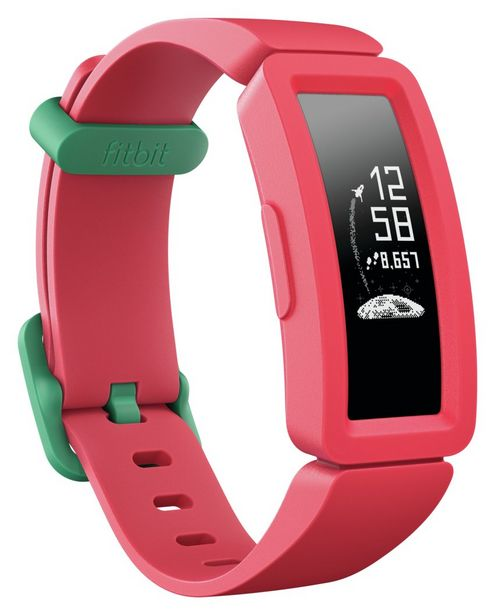 Fitbit Ace 2 Kids Activity Tracker- Watermelon/Teal offer at £49.99