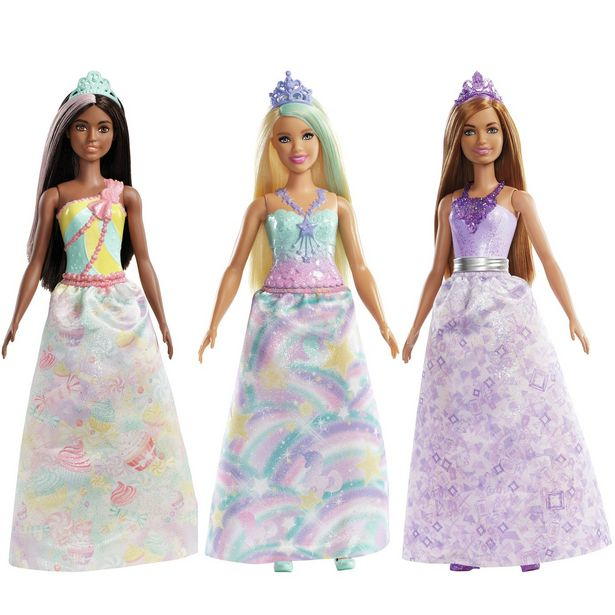 Barbie Dreamtopia Princess Doll Assortment offer at £10
