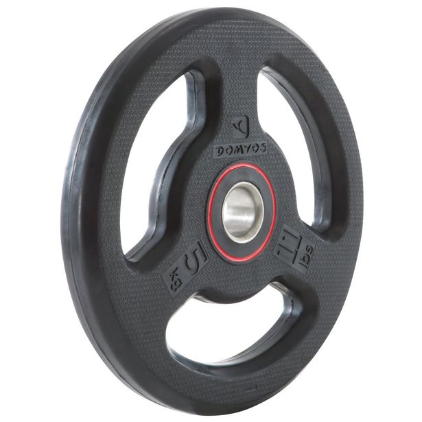 Decathlon Rubber Weight Disc - 5kg offer at £18