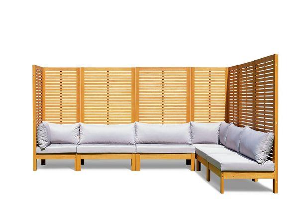Habitat Samoa Modular Corner Sofa Set - Light Wood offer at £1100