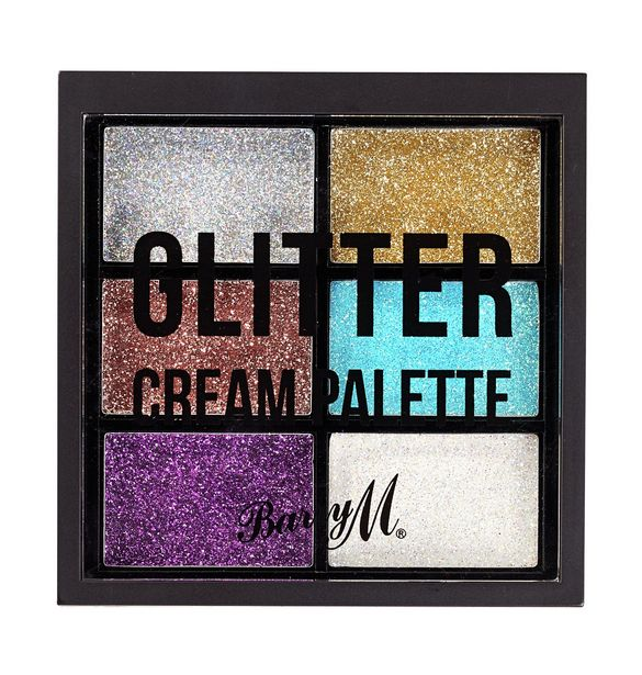 Barry M Cosmetics Glitter Cream Palette - Multicoloured offer at £6