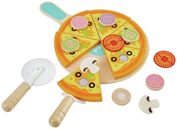 Chad Valley Wooden Pizza offer at £10