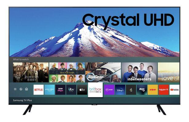 Samsung 43In UE43TU7020KXXU Smart 4K UHD HDR LED TV offer at £379