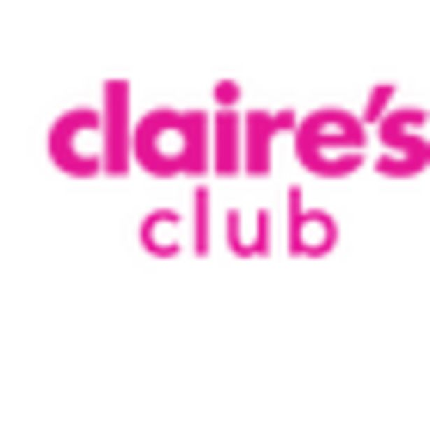 Claire's Club Satin Bow Clutch Bag - Red offer at £3.6