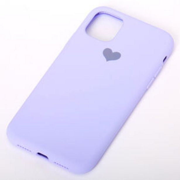 Lavender Heart Phone Case - Fits iPhone® 11 offer at £6