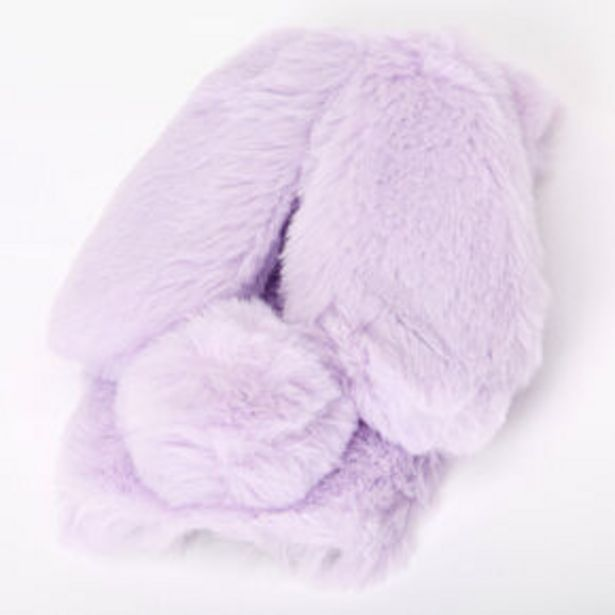 Purple Fur Bunny Phone Case - Fits iPhone 6/7/8/SE offer at £6