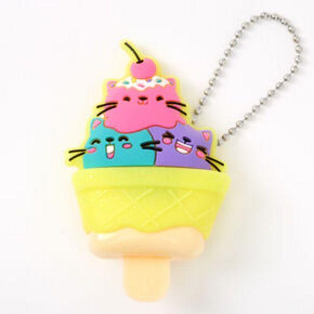 Pucker Pops® Cat Ice Cream Lip Gloss - Ice Cream offer at £2.25