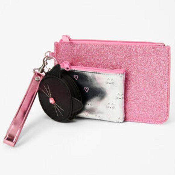 Cat Wristlet Trio - 3 Pack, Pink offer at £9.6