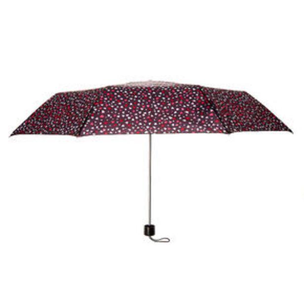 Love Hearts Umbrella - Black offer at £3.6