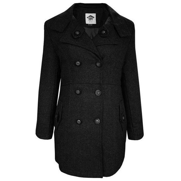 Lee Cooper Wool Blend Coat Ladies offer at £16.99