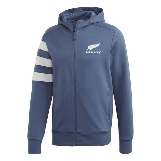 Adidas New Zealand All Blacks Hoodie Mens offer at £42