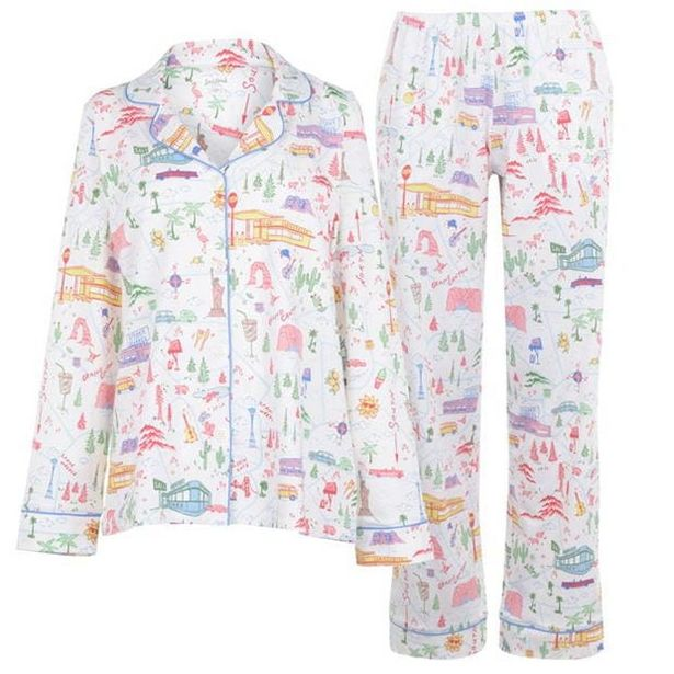 Bedhead Hit The Road Cotton PJ Set offer at £76
