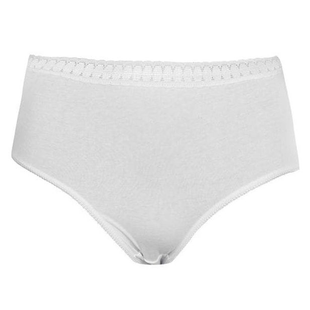 Miso 2 Pack Cotton Full Briefs Ladies offer at £2
