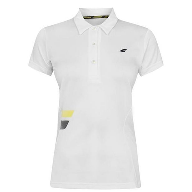 Babolat Club Tennis Polo Shirt Womens offer at £7