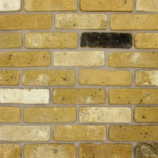 The Brick Tile Company Brick Slips Tile Blend 9 Yellow - Box of 35 offer at £38.88