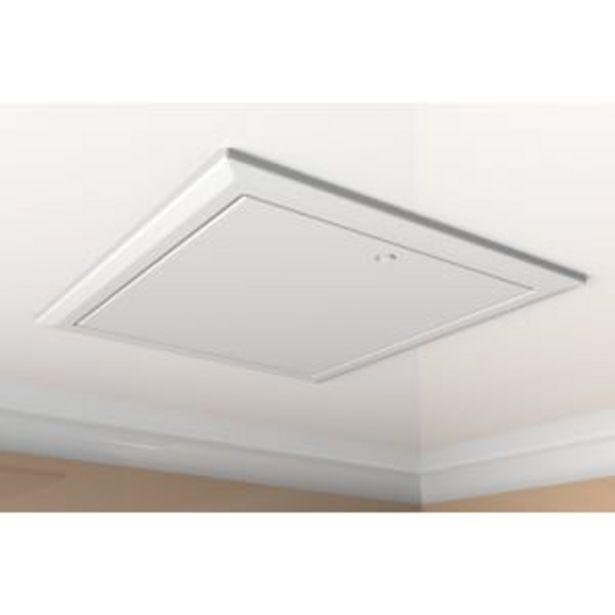 Timloc Hinged Loft 0.82U Access Door 560 x 660mm White offer at £48.05
