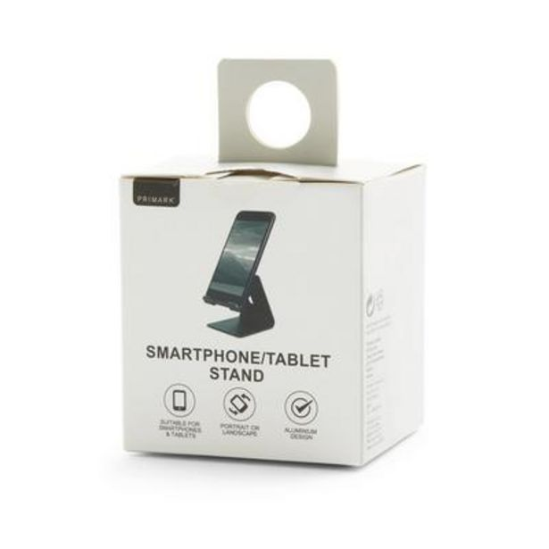 Black Phone And Tablet Stand offer at £3.5