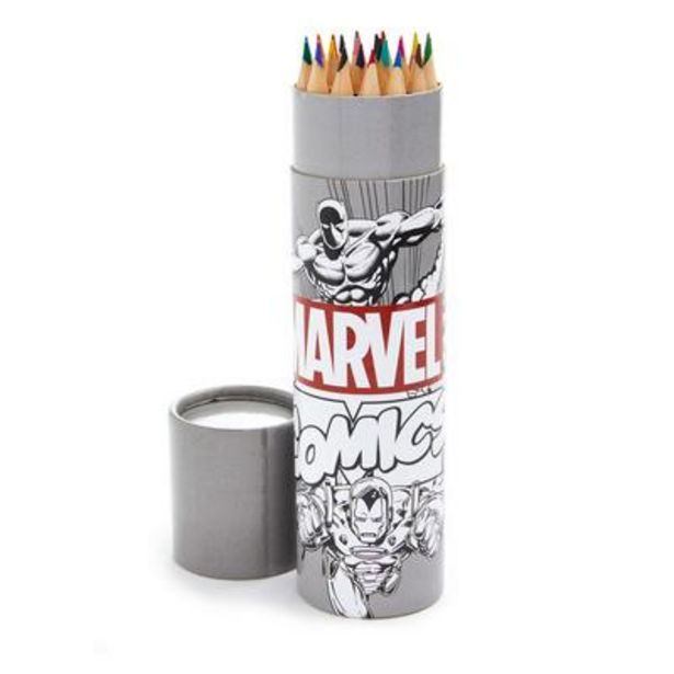 Marvel Colouring Pencil Tub offer at £2.5