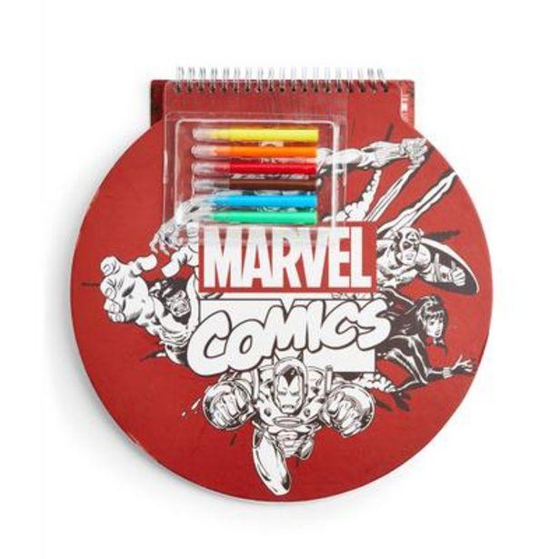 Marvel Sketch Pad offer at £5