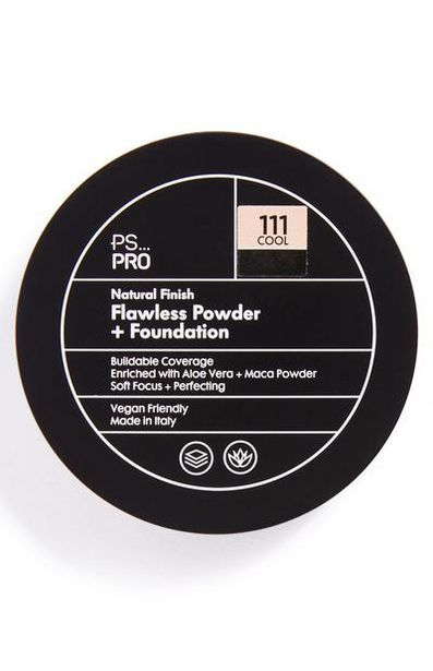 PS Pro Natural Finish Flawless Powder and Foundation 111 Cool offer at £5