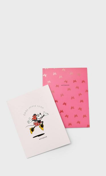 Minnie Mouse notebook pack offer at £6.99