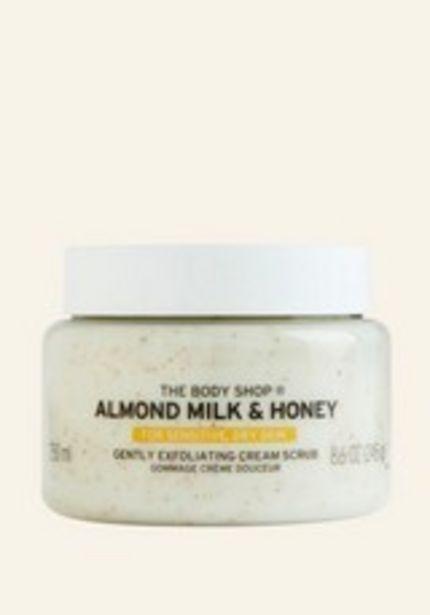 Almond Milk & Honey Gently Exfoliating Cream Scrub offer at £16