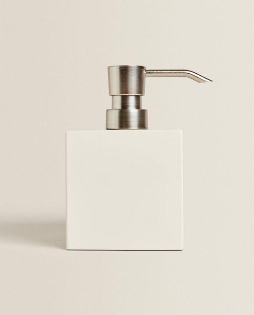 White Lacquered Soap Dispenser offer at £15.99