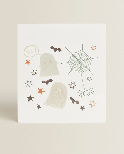 Temporary Ghost Tattoos offer at £5.99